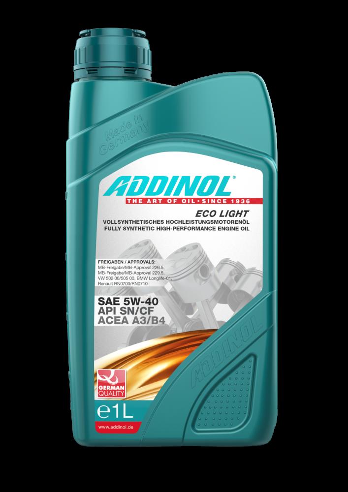 ADDINOL Eco Light 5W-40 1л