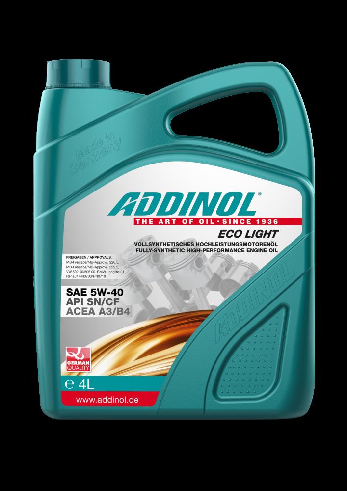 ADDINOL Eco Light 5W-40 4л