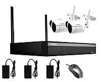 Беспроводная система видеонаблюдения на 2 камеры Longse WIFI 3604-2Mp Kit 2, 300 метров, 2 Мп, FullHD 1080P