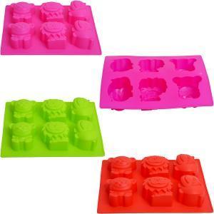 Форма силиконовая «Животные» 24×19×3,5 см            ck3-259