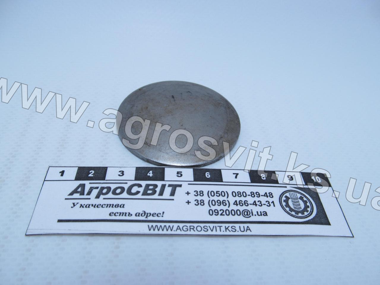Заглушка управления КПП (диаметр 50 мм.); 914106