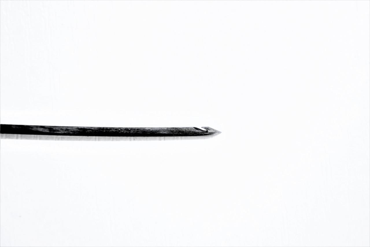 """Крючек прошивной """"ПРАВИЛЬНЫЙ"""" 2,0 мм."""