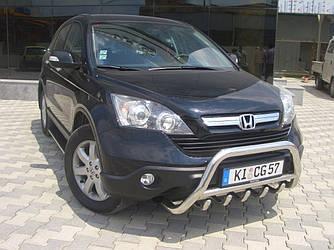 Кенгурятник WT003 (нерж.) - Honda CRV 2007-2011 гг.