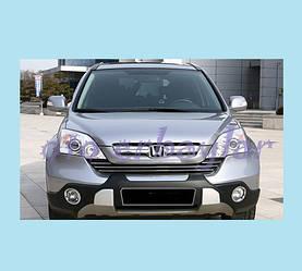 Передняя накладка V1 (2007-2010) - Honda CRV 2007-2011 гг.