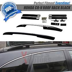 Рейлинги черные (оригинальный дизайн) - Honda CRV 2007-2011 гг.