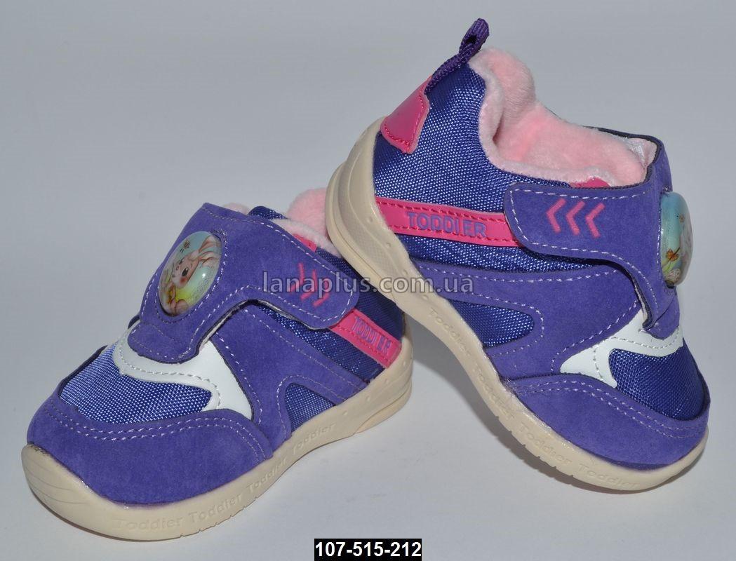 Детские кроссовки, 18-23 размер, кожаная стелька, супинатор