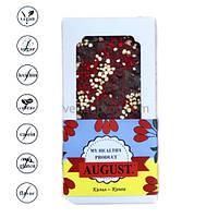 Натуральный шоколад с кизилом и киноа, ТМ August