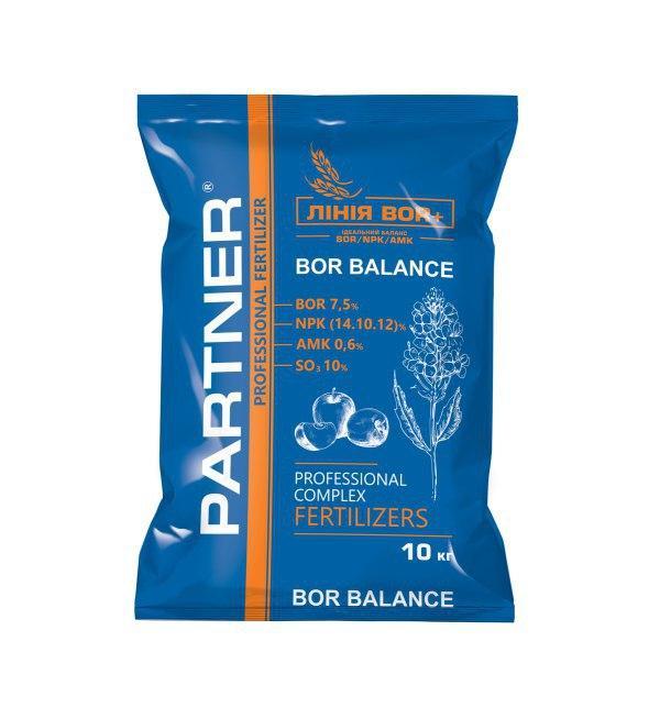 Удобрение PARTNER Bor Balance 14.10.12 + Вor 7.5 - 10 кг