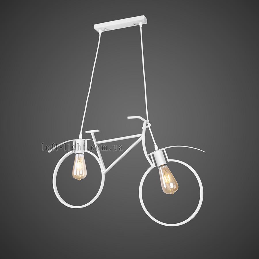"Люстра в стиле лофт "" велосипед"" 56-PR7021-2 WHITE"