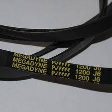 Ремінь 1200 J6 EL «Megadyne» для пральної машини Whirpool Electrolux Zanussi