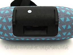 JBL XTREME mini 12 копия, портативная колонка с Bluetooth FM MP3, серая с бирюзой, фото 3