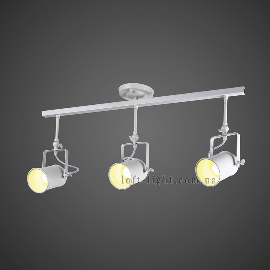 Прожектора (потолочные) в стиле лофт ( модель 61-SD03-3 WH белый   )