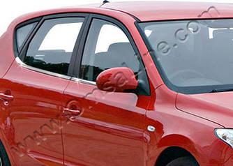 Нижні молдинги стекол (8 шт., нерж) - Hyundai I-30 2007-2011 рр.