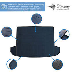 Резиновый коврик багажника (Stingray) - Hyundai I-30 2017+ гг.