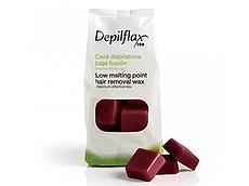 Гарячий воск Depilflax красное вино 1кг