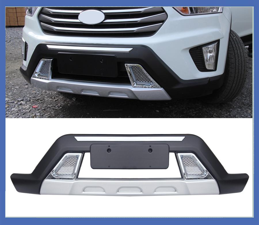 Передняя и задняя накладки (2 шт) - Hyundai Creta (2014+)