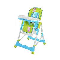 Детский стульчик для кормления Bambi LT 0007 U R Бело-голубой, КОД: 123816