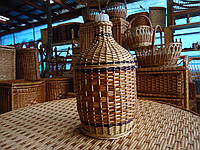 Бутылки отплетенные лозой 5л