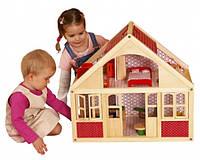 Домики, мебель, игровые площадки для кукол и игровых фигурок