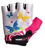 Велорукавички PowerPlay 5470 Біло-рожеві  3XS, фото 2