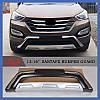 Передняя накладка (2012-2016) - Hyundai Santa Fe 3 2012-2018 гг., фото 2