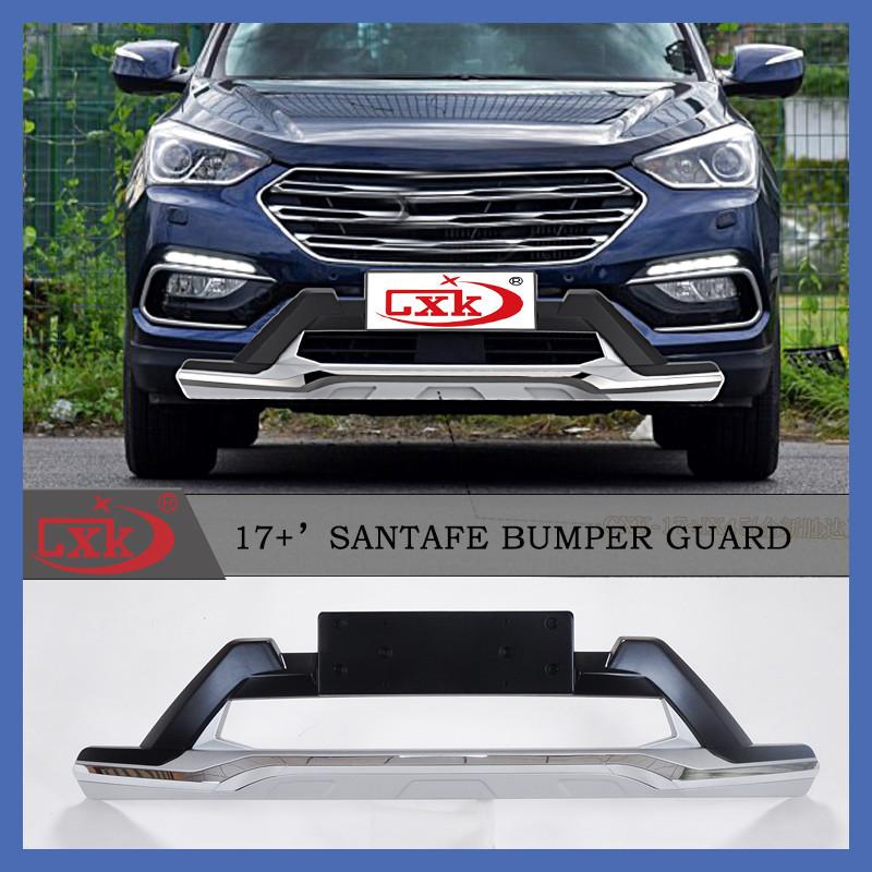 Передняя и задняя накладки (2016-2018) - Hyundai Santa Fe 3 2012-2018 гг.