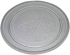 Скляна тарілка для мікрохвильової печі LG діаметр 245 мм