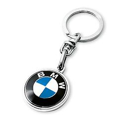 Оригинальный брелок с логотипом BMW (BMW Key Ring Pendant, 80272454773)