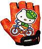 Велорукавички PowerPlay 5473 Kitty Помаранчеві 3XS, фото 2