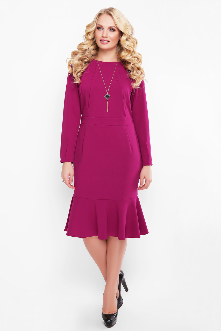 Женское платье Роми марсала