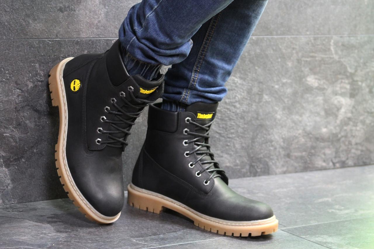 64605be57ad055 Зимове чоловіче взуття Timberland, чорні, цена 1 290 грн., купить в ...