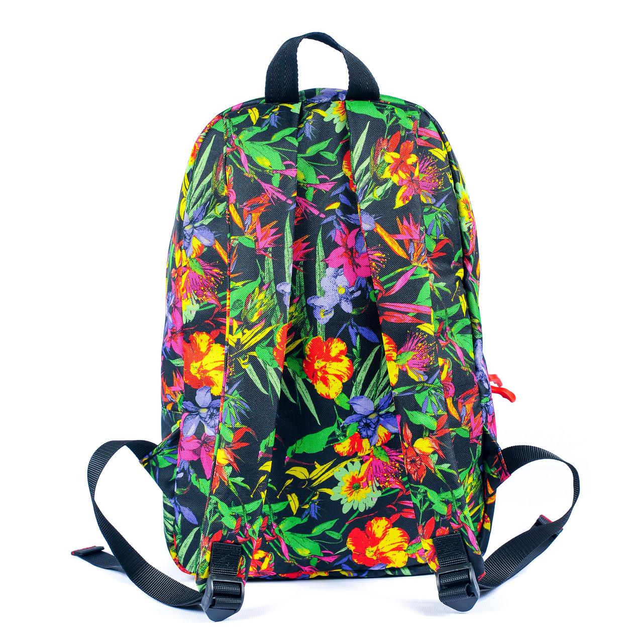 Рюкзак Mayers молодежный с цветочным принтом, 14 л, фото 2