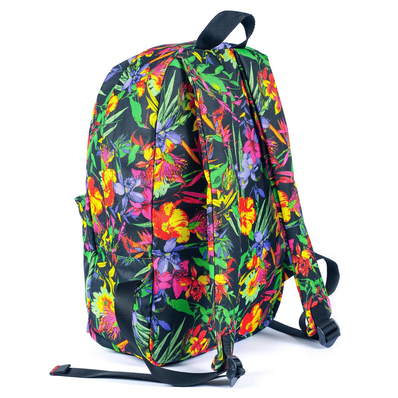 Рюкзак Mayers молодежный с цветочным принтом, 14 л, фото 5