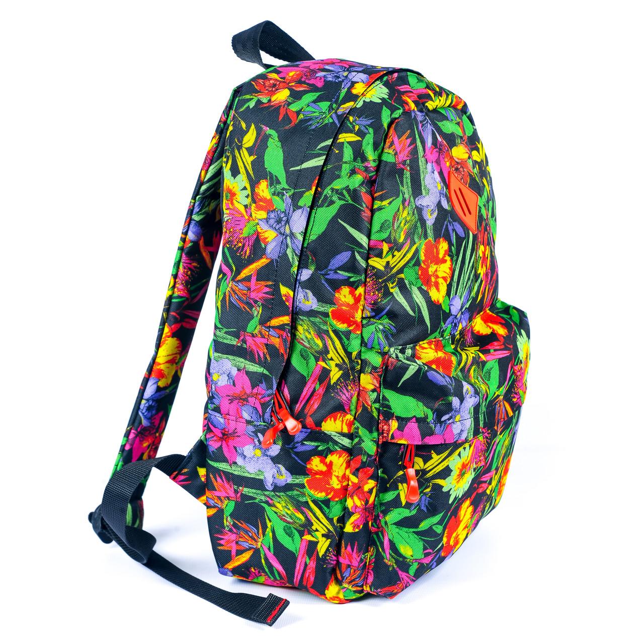 Рюкзак Mayers молодежный с цветочным принтом, 14 л, фото 7