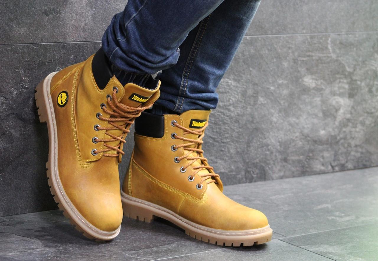 3dfcd6fdbc45e9 Зимове чоловіче взуття Timberland, рижі, цена 1 290 грн., купить в ...