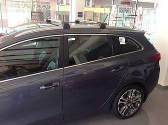 Поперечины под ключ (2 шт) - Kia Ceed 2012+ гг.