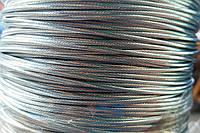 Трос (канат) нержавіючий плетіння 1х19