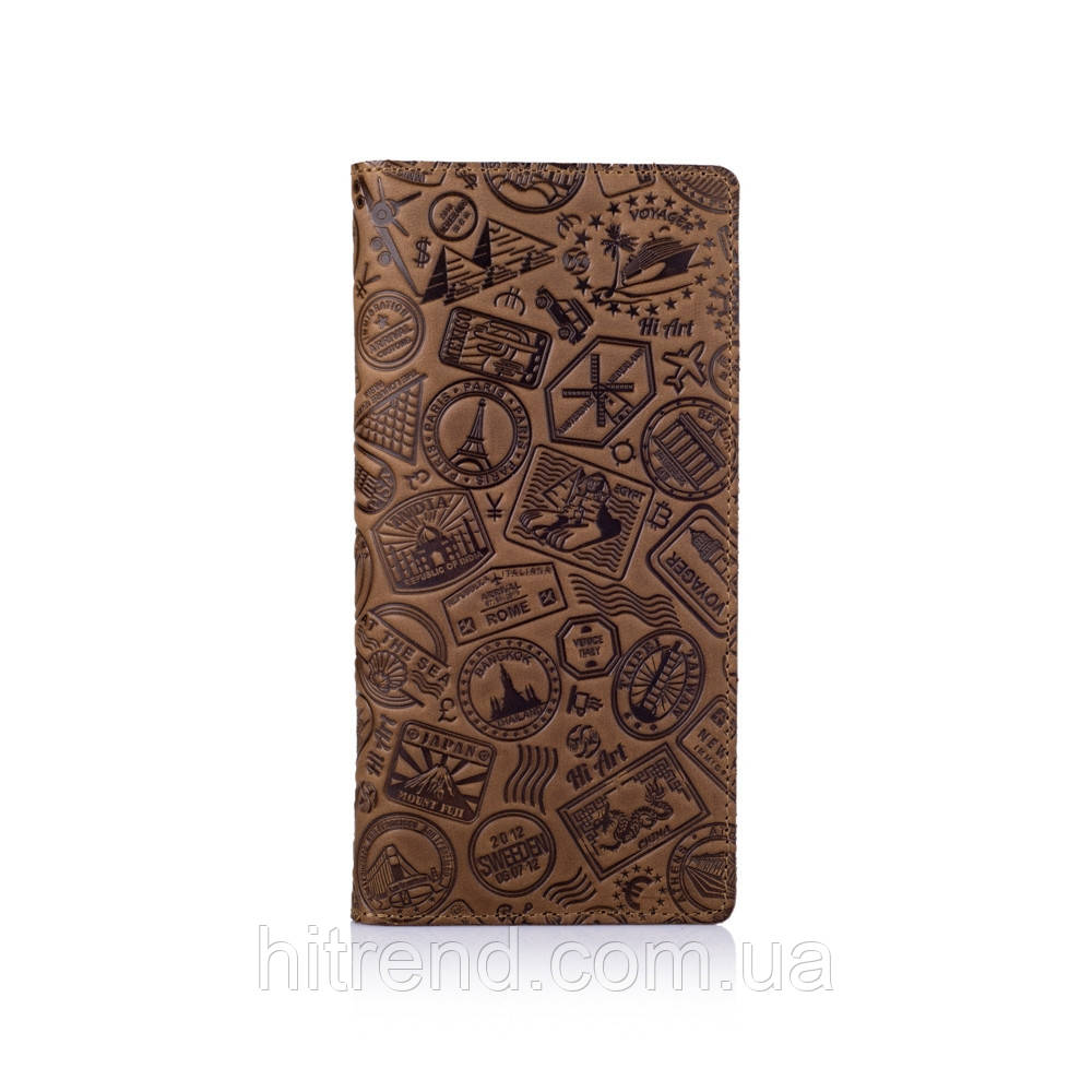 Бумажник HiArt, Shabby Olive. Lets Go Travel - 138618