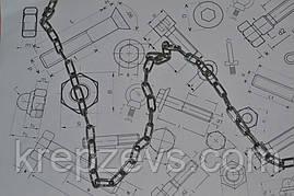 Цепь нержавеющая короткозвенная Ф2 из стали А4