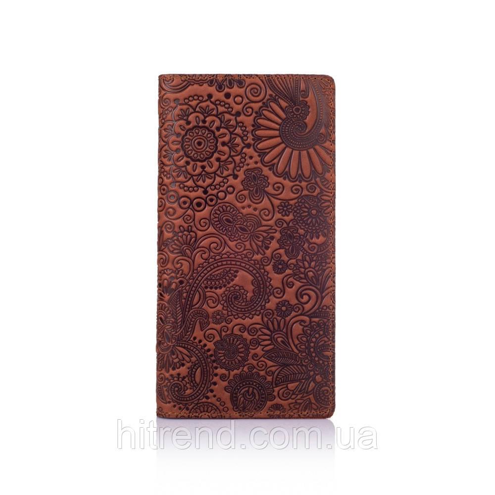 Бумажник HiArt, Shabby Сognac. Mehendi Art - 138639
