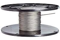 Трос Ф1.5 плетение 1х19 DIN 3053, фото 1