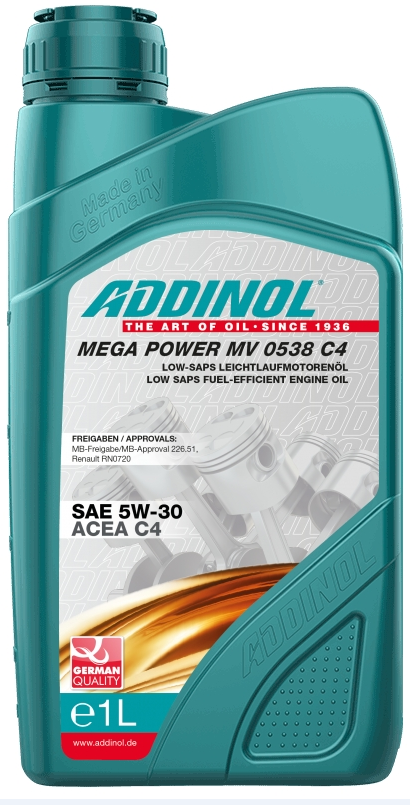 ADDINOL Mega Power MV 0538 C4 5W-30 1л