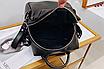 Рюкзак женский сумка трансформер Сomfort Черный, фото 7