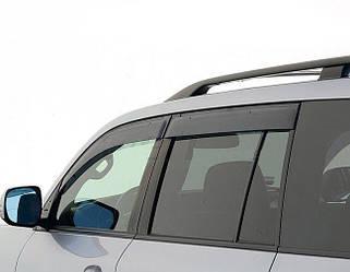 Ветровики Exclusive (4 шт, широкие) - Lexus LX570
