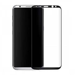Защитное стекло на Samsung Galaxy S8 3D Черное 14153, КОД: 222232
