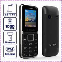 Мобильный телефон S-Tell S1-07 Black на 2 сим-карты