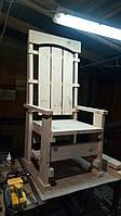 """Трон кресло """"Титан"""" высота 160 см некрашеный заготовка"""