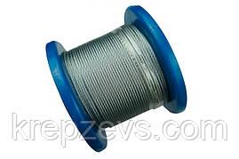 Трос Ф10.0 плетение 1х19 DIN 3053