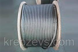 Трос Ф12.0 плетение 1х19 DIN 3053