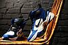 Зимние мужские кроссовки Nike M2K Tekno Winter Blue топ реплика, фото 5